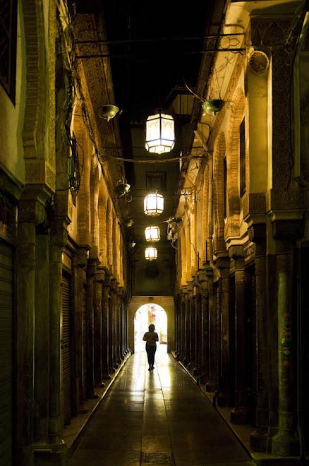 Caminhando em direcção à luz - Granada, Espanha