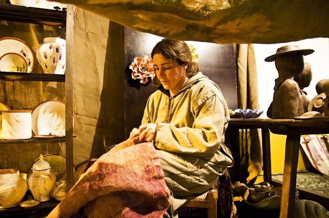 A artesã - Feira Medieval de Avis 2010