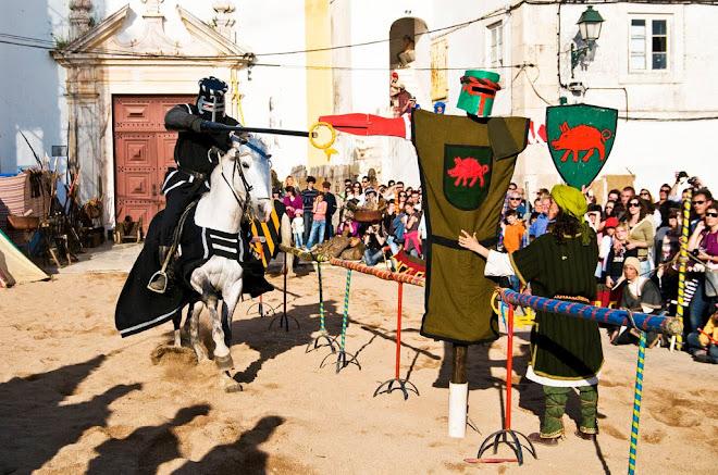 Verdadeira perícia! - Feira Medieval de Avis 2010