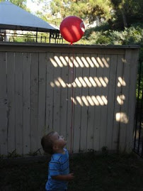Tristan and his balloon