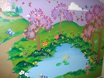Kira's Wall Mural
