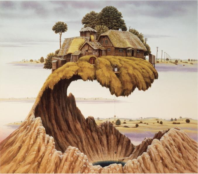 Pinturas surrealistas surrealismo jacek yerka arte diseo hd walls