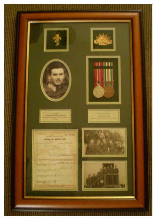 Military Medal Mounting and Framing - Australia: Military Custom ...