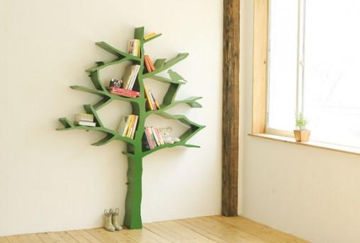 Стеллаж в виде дерева