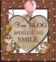 Your blog makes us smile