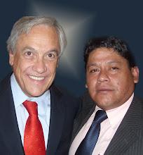 Con Sebastian Piñera