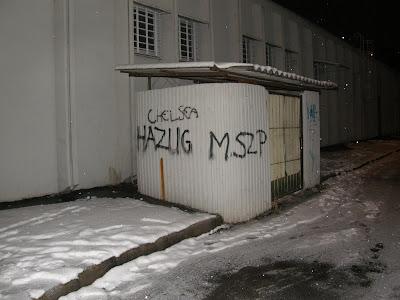 Budapest,  graffiti,  street art,  MSZP,  kampány, blog, Újpest, IV. kerület, hazug MSZP, falfirka