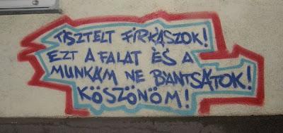 blog, Budapest, gumiszervíz, Rákos út, street art, XV. kerület, graffiti, antigraffiti