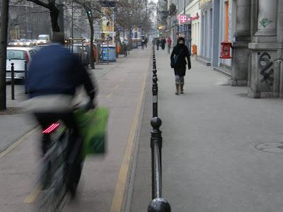 bicikliút, kerékpárút, Bajcsy-Zsilinszky út, V. kerület, Belváros, Budapest