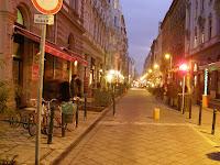 Budapest, IX. kerület, Ráday utca, forgalomcsillapítás