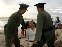 Falun Gong practitioners put on drama called