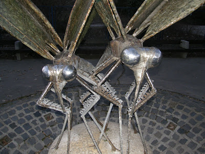 Szitakötő, szitakötők, Vérmező, II. kerület, odonatológia, dragonflies, dragonfly, Budapest, denkmal, szobor, statue, Magyarország, Hungary, Buda