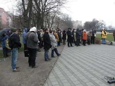 Budapest, demonstráció, Iványi Gábor, Szabad Demokraták Szövetsége, SZDSZ, Szent István park, tüntetés, XIII. kerület