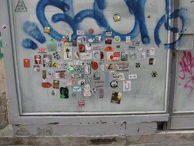 matrica, Budapest, V. kerület, Váci utca, belváros, street art