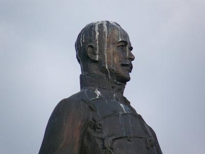 Buda, Budavár, bástya, Fehérvári Rondella, I. kerület, vár, Várnegyed, Görgey Arthúr, szobor, szobra, statue, denkmal, forradalom, emlékmű