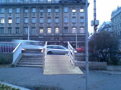 Erzsébet híd, V. kerület, Budapest, belváros,  kerékpár, bringa, bicikli, út, felhajtó, Magyarország, Hungary, Ungarn, praktikus