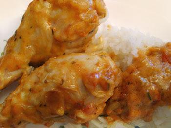 poulet beurre cacahuete