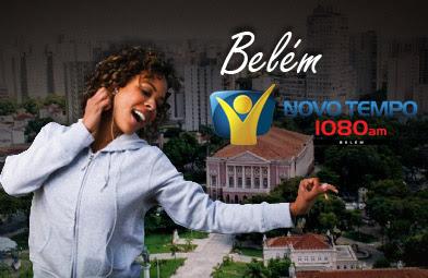 Ouça Ao Vivo a Rádio Novo Tempo de Belém