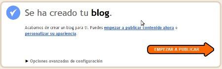 Cómo crear un blog en Blogger paso a paso y facil 5