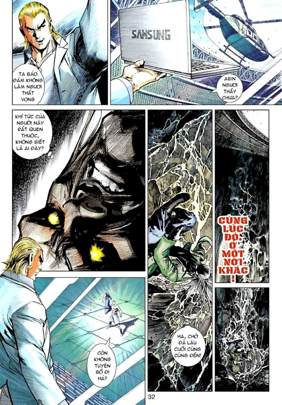 Vương Phong Lôi 1 chap 18 - Trang 28
