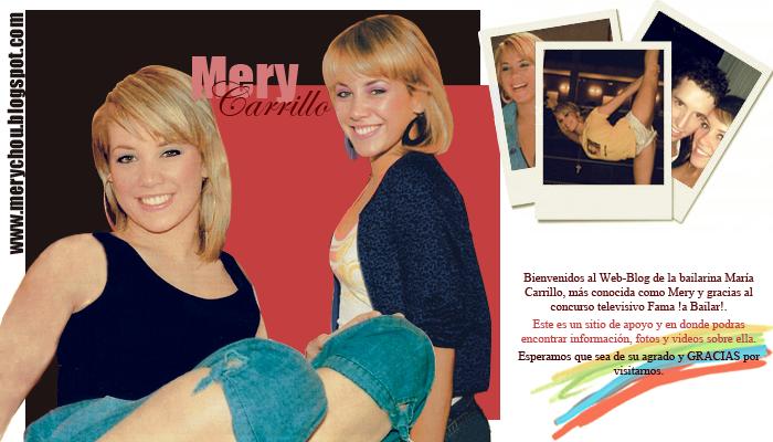 ★Web-Blog de Fans sobre Mery☆                  【MaRía Carrillo Gavira】