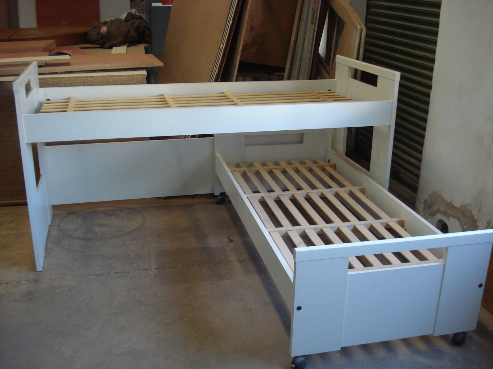 Blog cama nido en melamina blanca oferta for Liquidacion camas nido