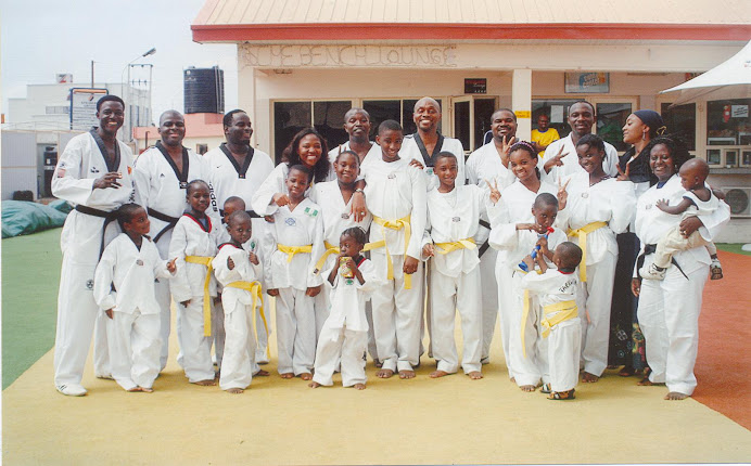 Lekki Taekwondo Academy (LTA) first taekwondo family founding members