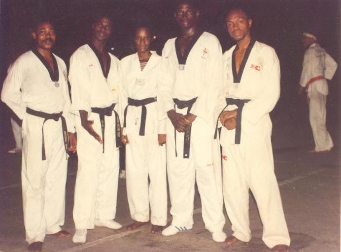 Premier Nigeria Taekwondo Olympians to Barcelona 1992 Olympiad & maiden club (Manidee) instructors