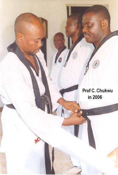 NEWS: GOOD LUCK TO TAEKWONDO -as President Jonathan Appoints Black Belt Patron as Health Minister