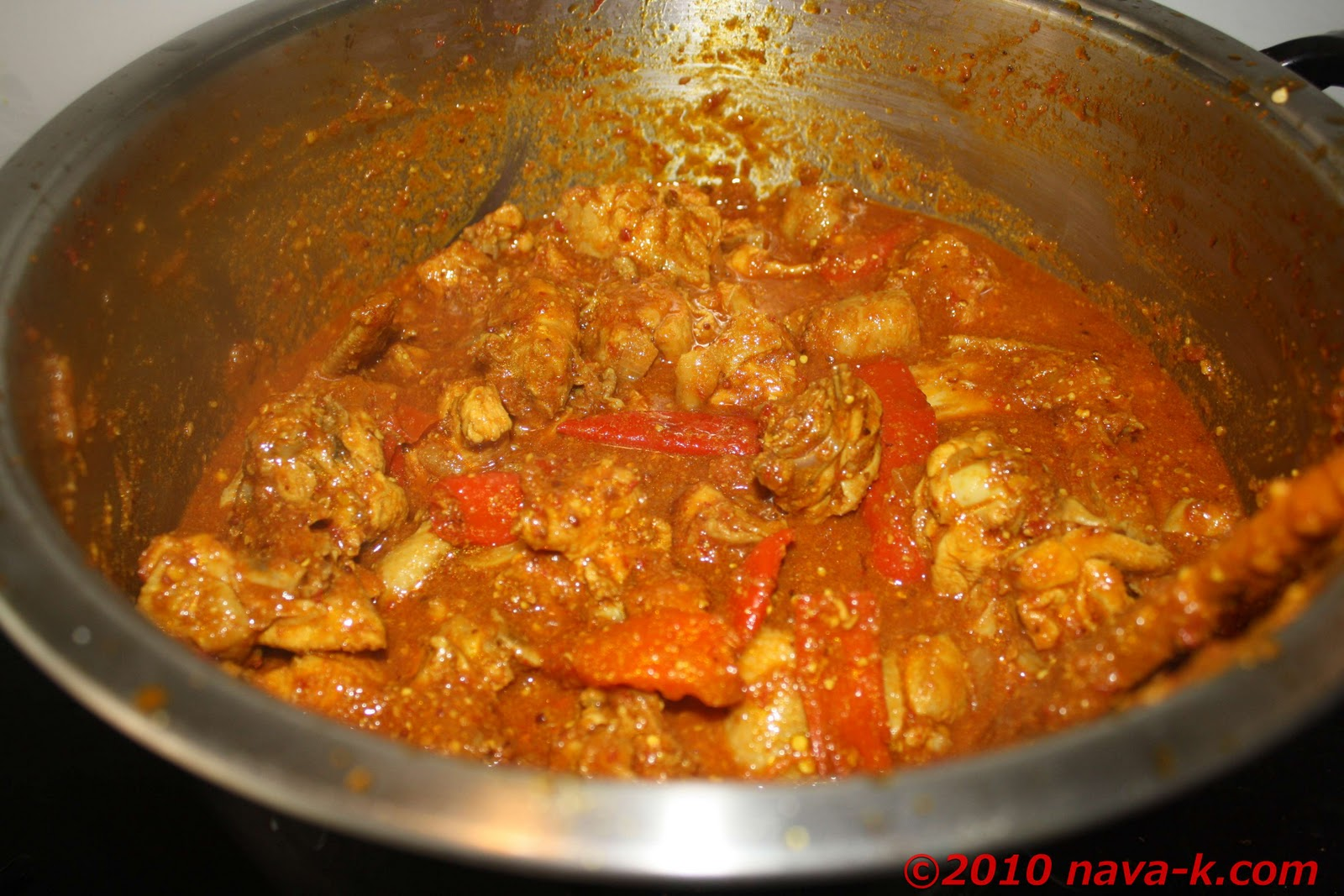 nava-k: Chicken Devil Curry