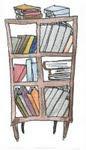 minha estante de leitura