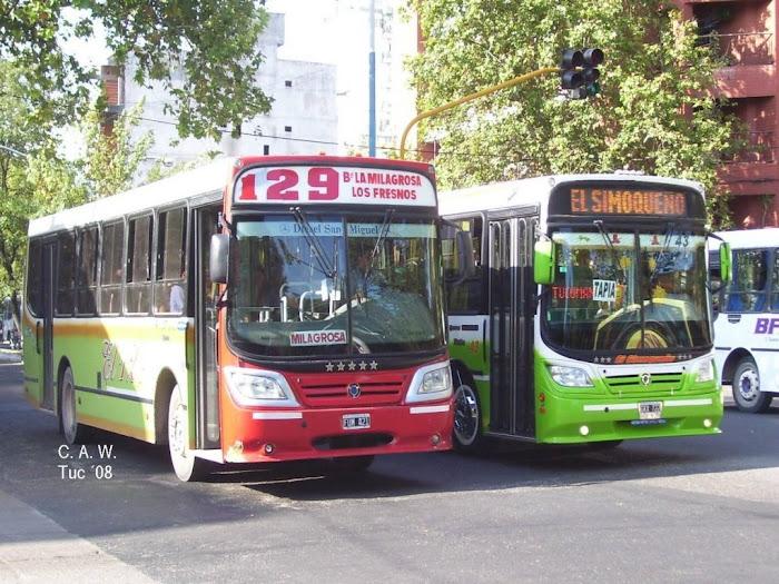 LINEA 129 Y EL SIMOQUEÑO