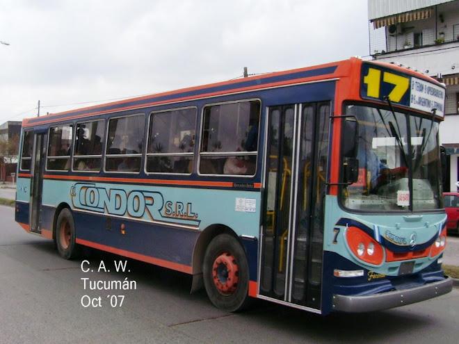 EL CONDOR LINEA 17