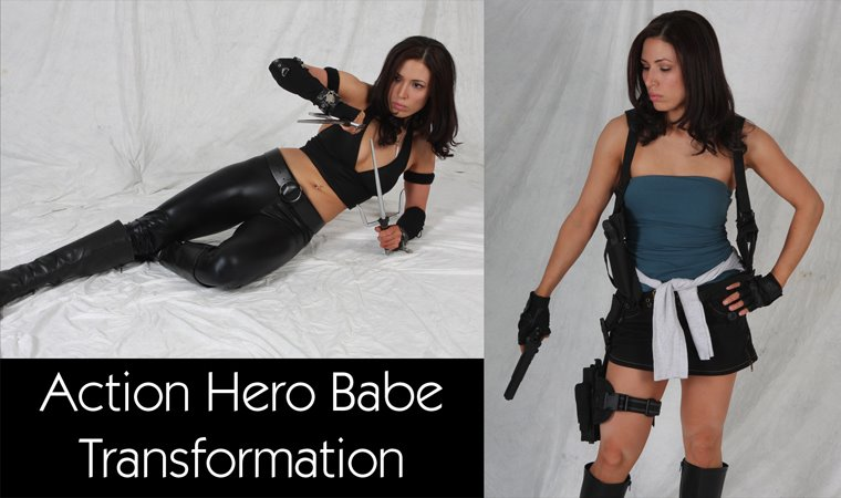 My RCR Action Hero Babe Transformation Journey