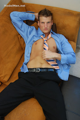 gaydreamblog gay hot business man strips and jerks modelmen charlie gets comfy on the couch