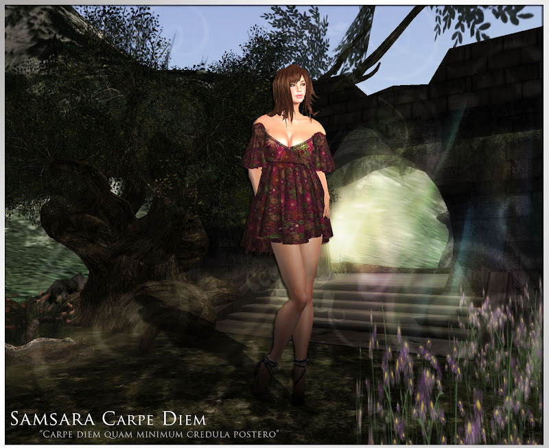The Model Wears: Dress Viva by Samsara Clothes title=