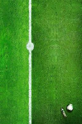 Green Field: Free wallpaper on iphone