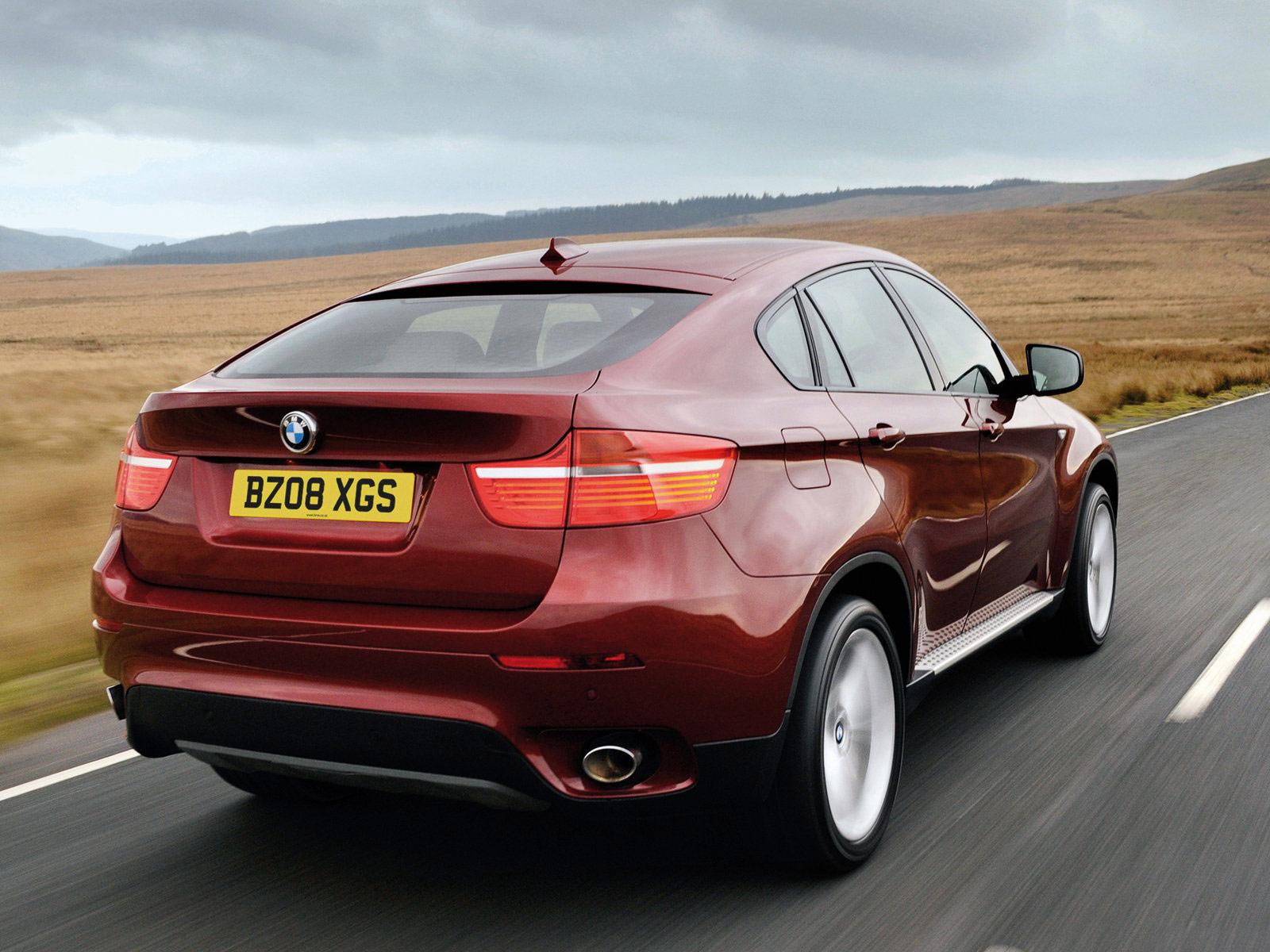 Car insurance. 2009 BMW X6 UK Version. Desktop Wallpaper.