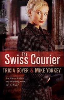 The Swiss Courier By Tricia Goyer Blog Tour Preview and Review