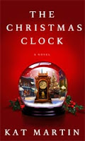 Author Guest Mini Post and Giveaway of The Christmas Clock by Kat Martin