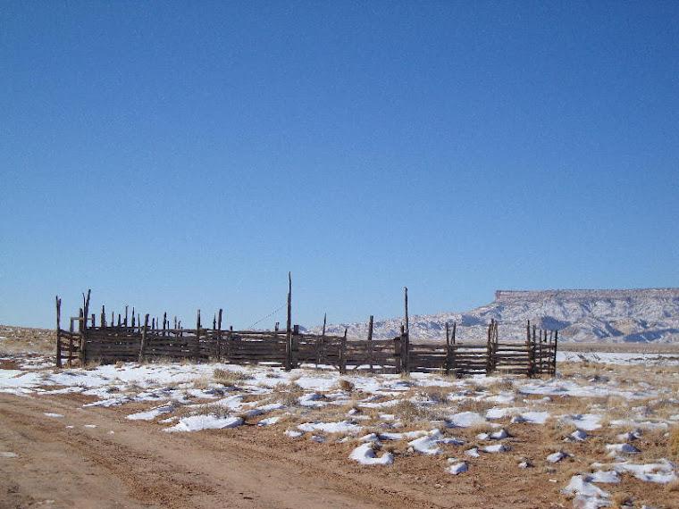 Corral Near Black Mesa