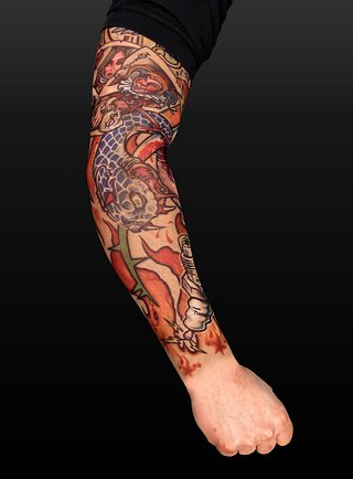 tattoos sleeves. Tribal Tattoo Half Sleeve