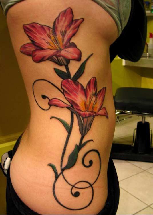 stargazer lily tattoos. tattoo s.