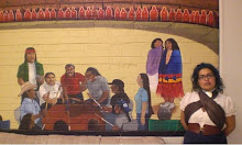 Mural at the Intertribal Friendship House