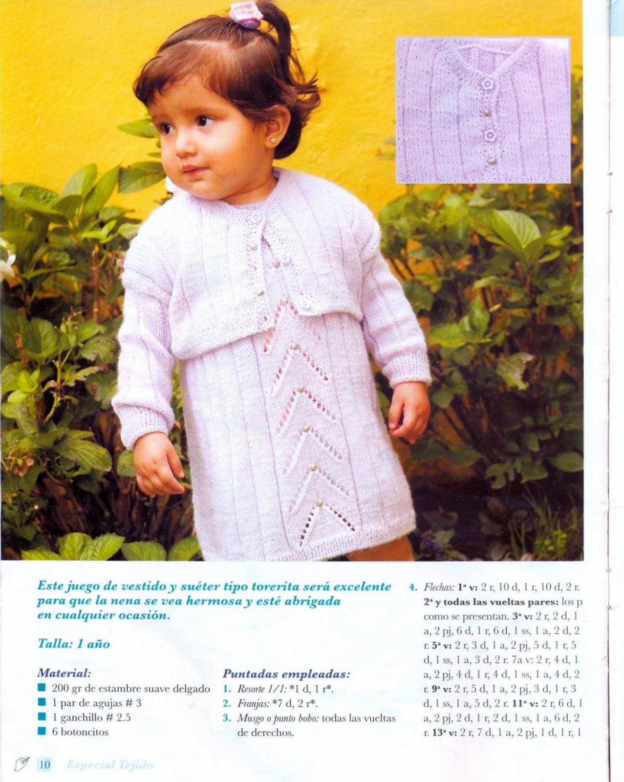 Vestidos en crochet bonitos