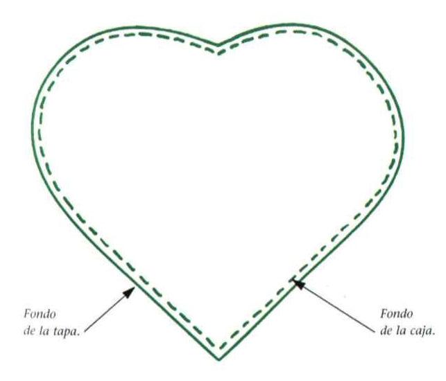 Como hacer una caja en forma de corazón ~ lodijoella