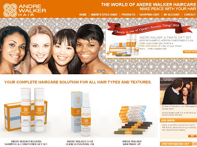 Andre Walker Hair Products & Hair Style Tips