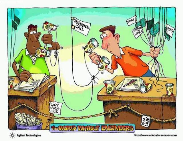 CHISTES GRÁFICOS: EL MUNDO SIN INGENIEROS DE TELECOMUNICACIONES