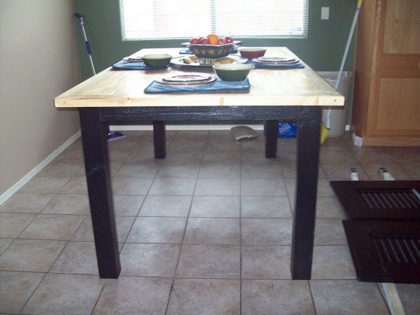 Blue Pine Kitchen Table