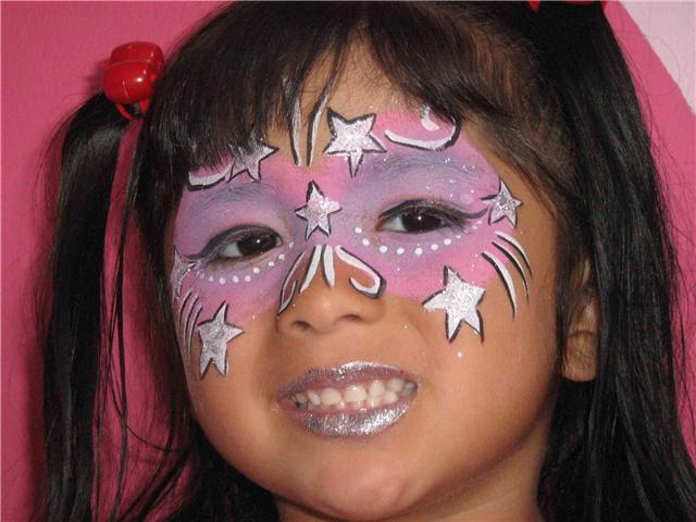 Caras pintadas niños - Imagui